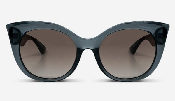 Sonnenbrille Thelma Transparent Grey Damen von MessyWeekend