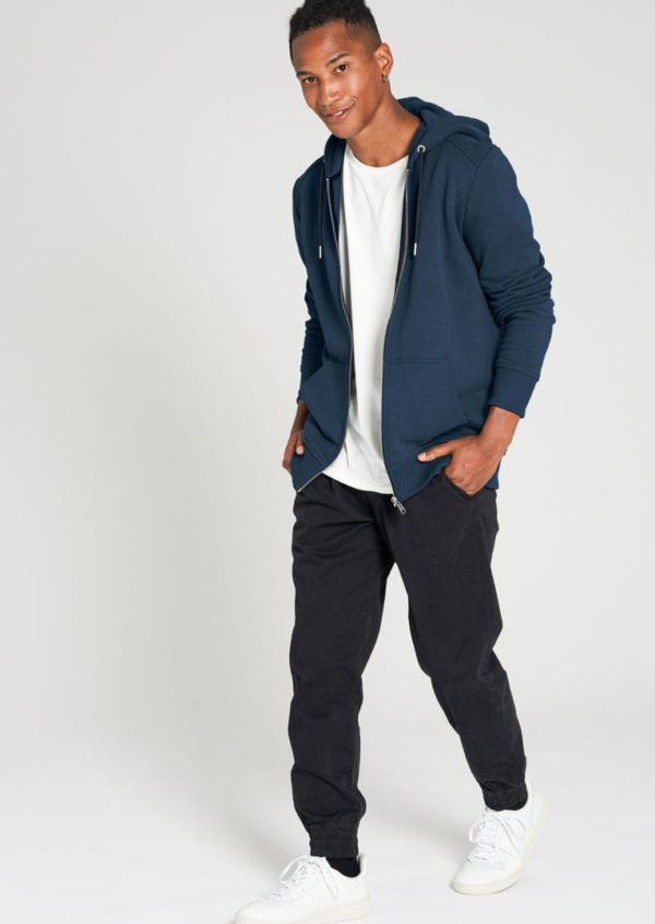 Basic Sweatjacket Deep Blue von Recolution