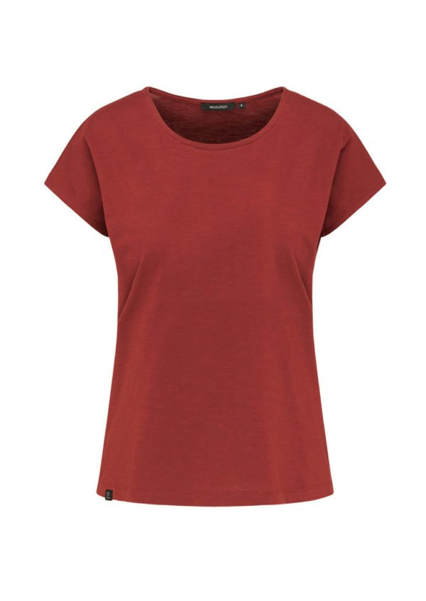 Casual T-Shirt Autumn Red von Recolution