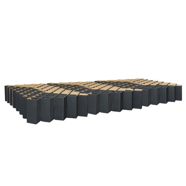 Familienbett - schwarz von Room in a Box