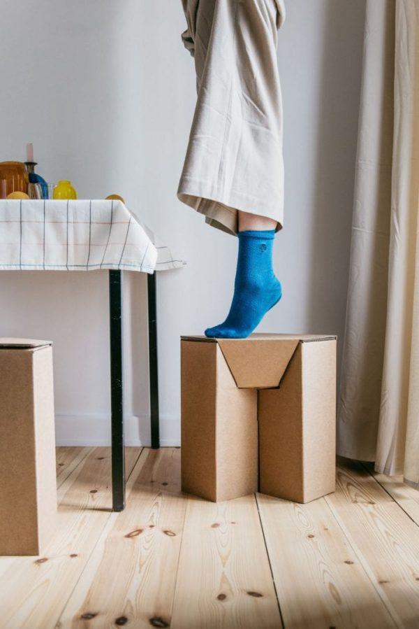 Papphocker / Nachttisch - 1 Stück von Room in a Box