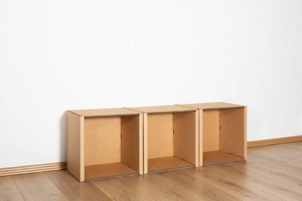 Regal 1x3 - keine / keine von Room in a Box