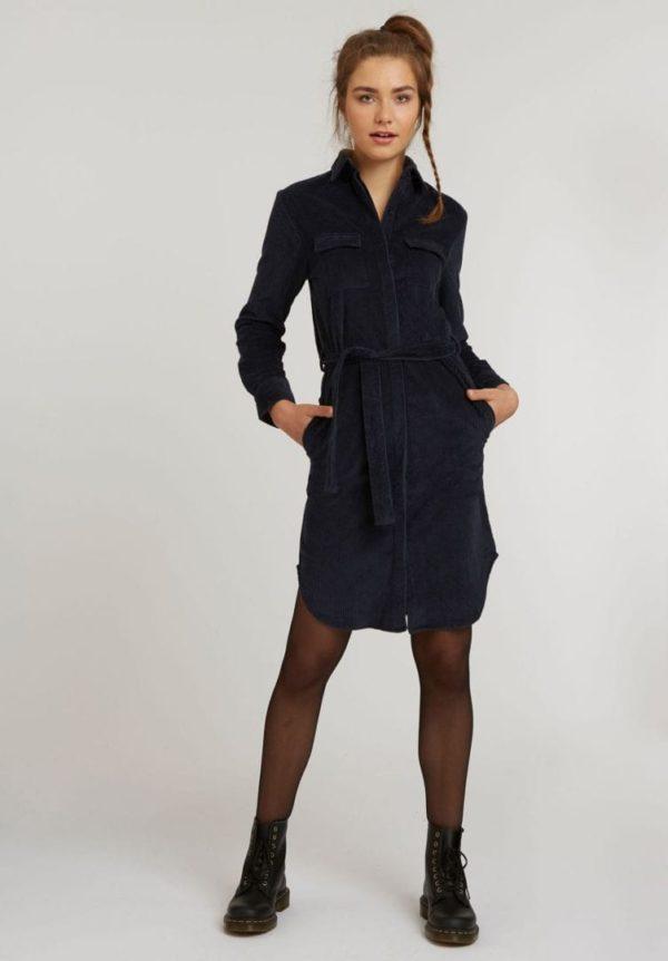 Damen Cord Shirt Dress  von ThokkThokk