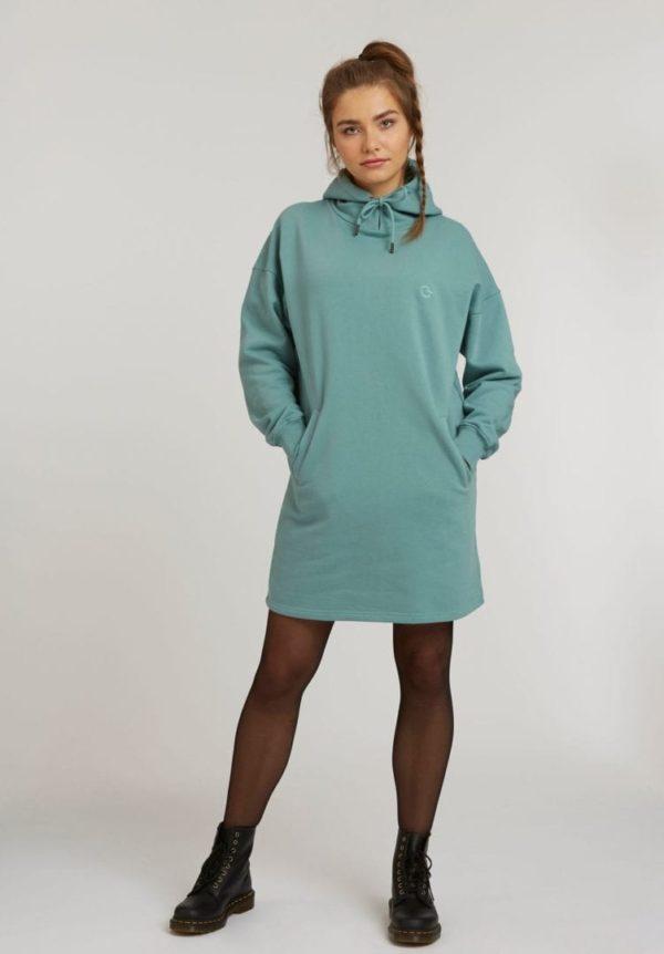 Damen Hoodie Kleid  von ThokkThokk