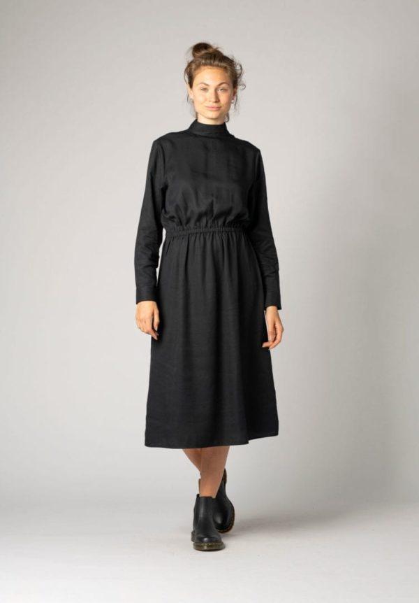 Damen Kleid Schwarz   von ThokkThokk
