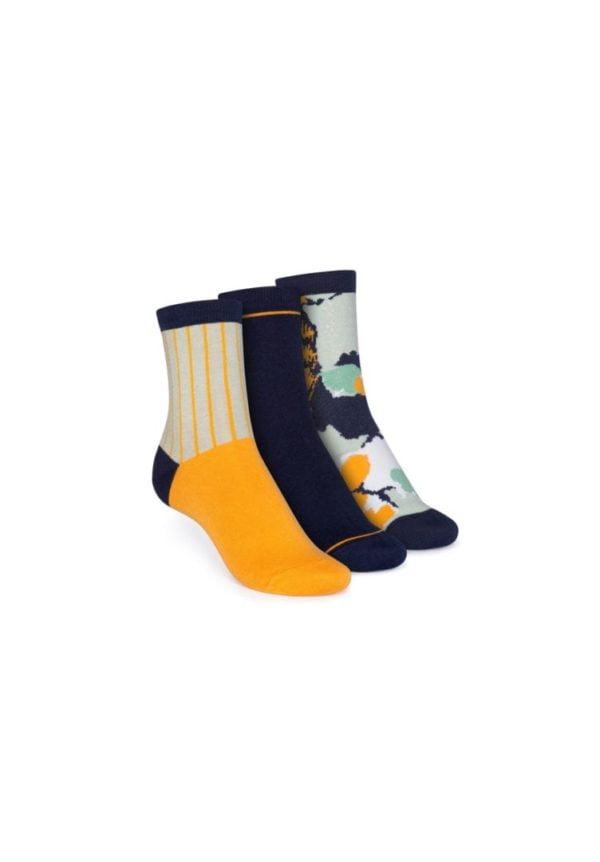 Socken Gemustert Mittelhoch 3er Pack  von ThokkThokk
