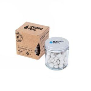 Zahnputz Tabs Salbei – 130 Stück – mit Fluorid von Hydrophil