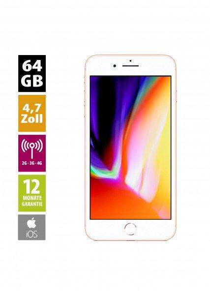 Apple iPhone 8 (64GB) - Gold von AfB