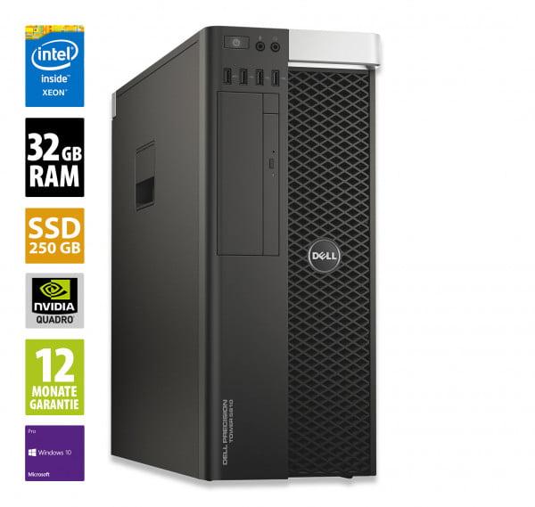 Dell Precision T5810 - Xeon E5-1620 v3 @ 3
