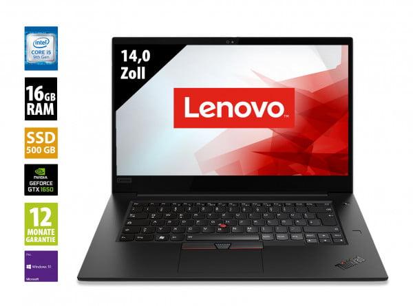 Lenovo ThinkPad X1 Extreme Gen 2 - 15