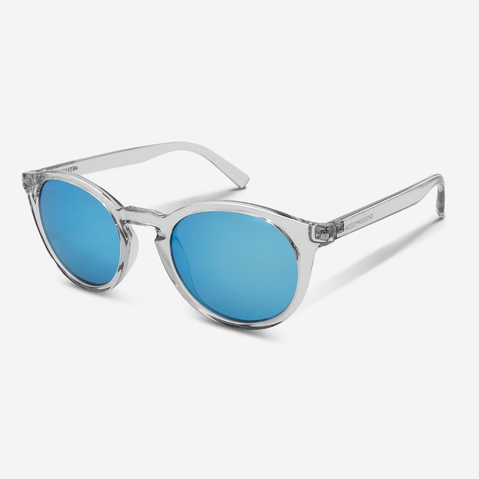 Sonnenbrille Hobbes Crystal Blue Unisex von MessyWeekend