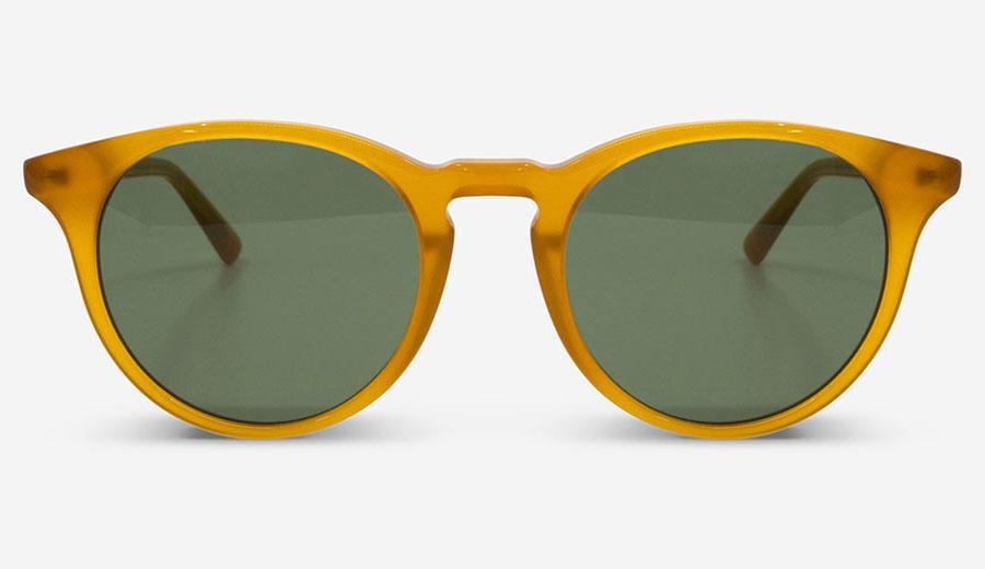 Sonnenbrille New Depp Amber Unisex von MessyWeekend