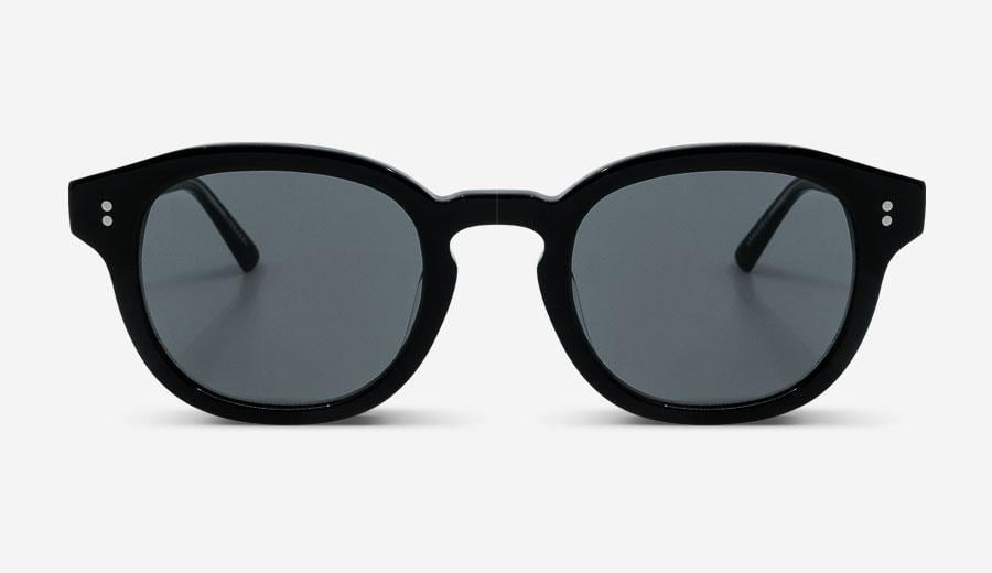 Sonnenbrille Roe Black Unisex von MessyWeekend