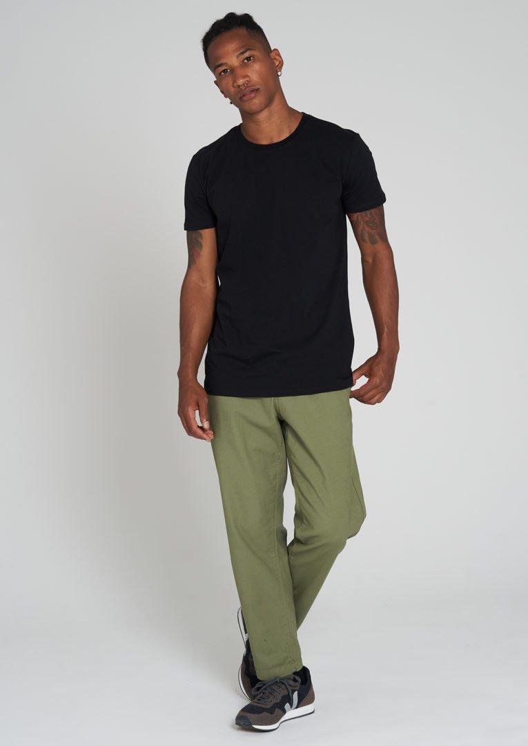 Casual T-Shirt Black von Recolution
