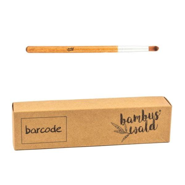 Schminkpinsel No. 1 mit Griff aus Bambus & syntethischen Borsten - BLENDING BRUSH von Bambuswald