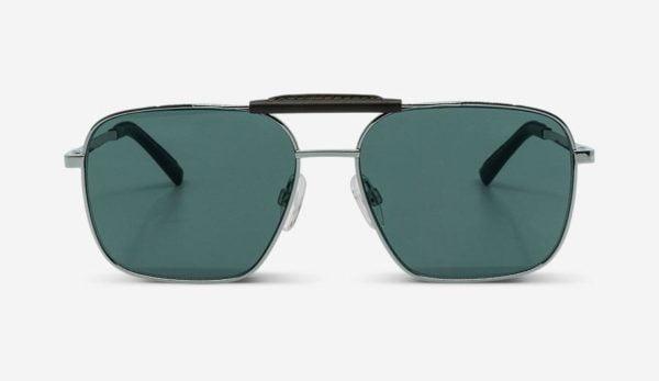 Sonnenbrille Ari Silver Unisex von MessyWeekend