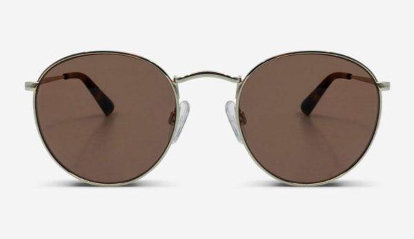 Sonnenbrille Lennon Gold Unisex von MessyWeekend
