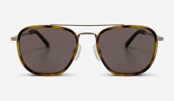 Sonnenbrille Quentin Gold Unisex von MessyWeekend