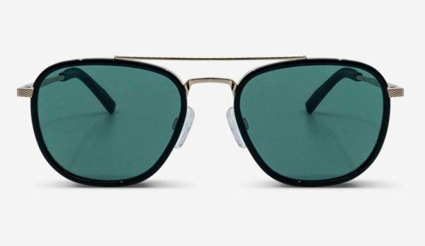 Sonnenbrille Quentin Silver Unisex von MessyWeekend
