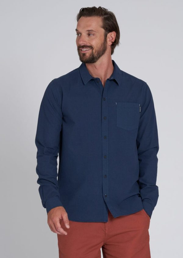 Basic Shirt Navy von Recolution