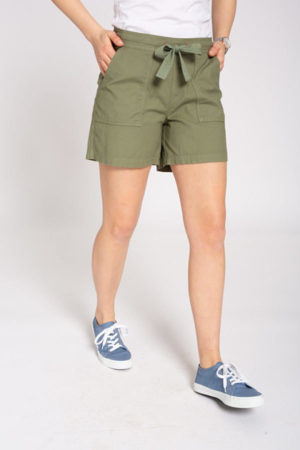 Canvas Shorts Olive von Recolution