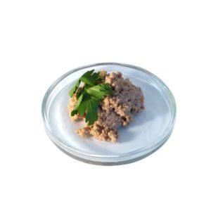 Biokost Junior - Bio-Huhn mit Kokosflocken und Zucchini von Liebesgut Tiernahrung