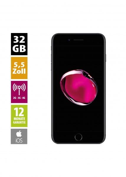 Apple iPhone 7 Plus (32GB) - Matte Black von AfB