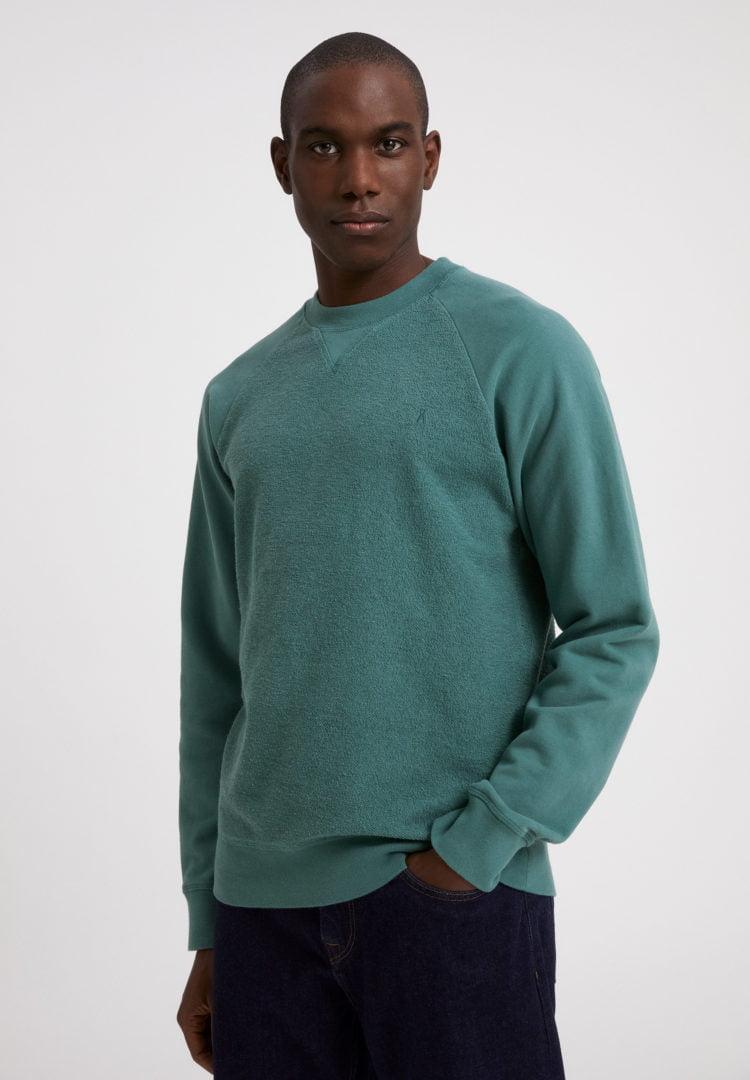 Sweatshirt Nikolaa In Silver Pine von ArmedAngels
