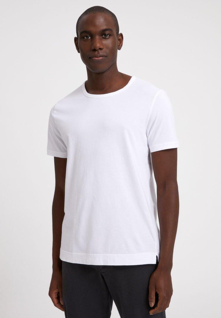 T-shirt Aantonio Soft Brushed In White von ArmedAngels