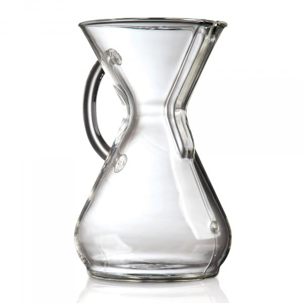 '-Kaffeekaraffe - mit Glasgriff für bis zu 8 Tassen von Chemex