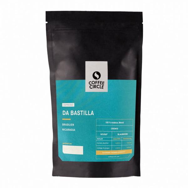 Espresso Da Bastilla 350g ganze Bohne von Coffee Circle