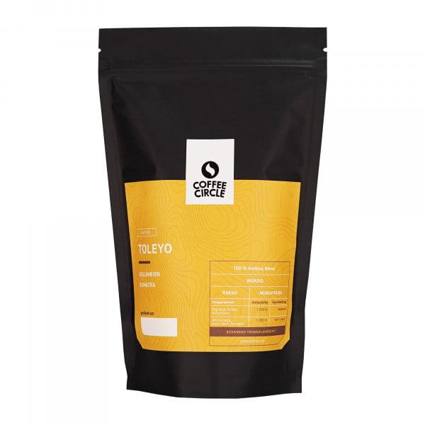 Toleyo Kaffee 350g ganze Bohne von Coffee Circle