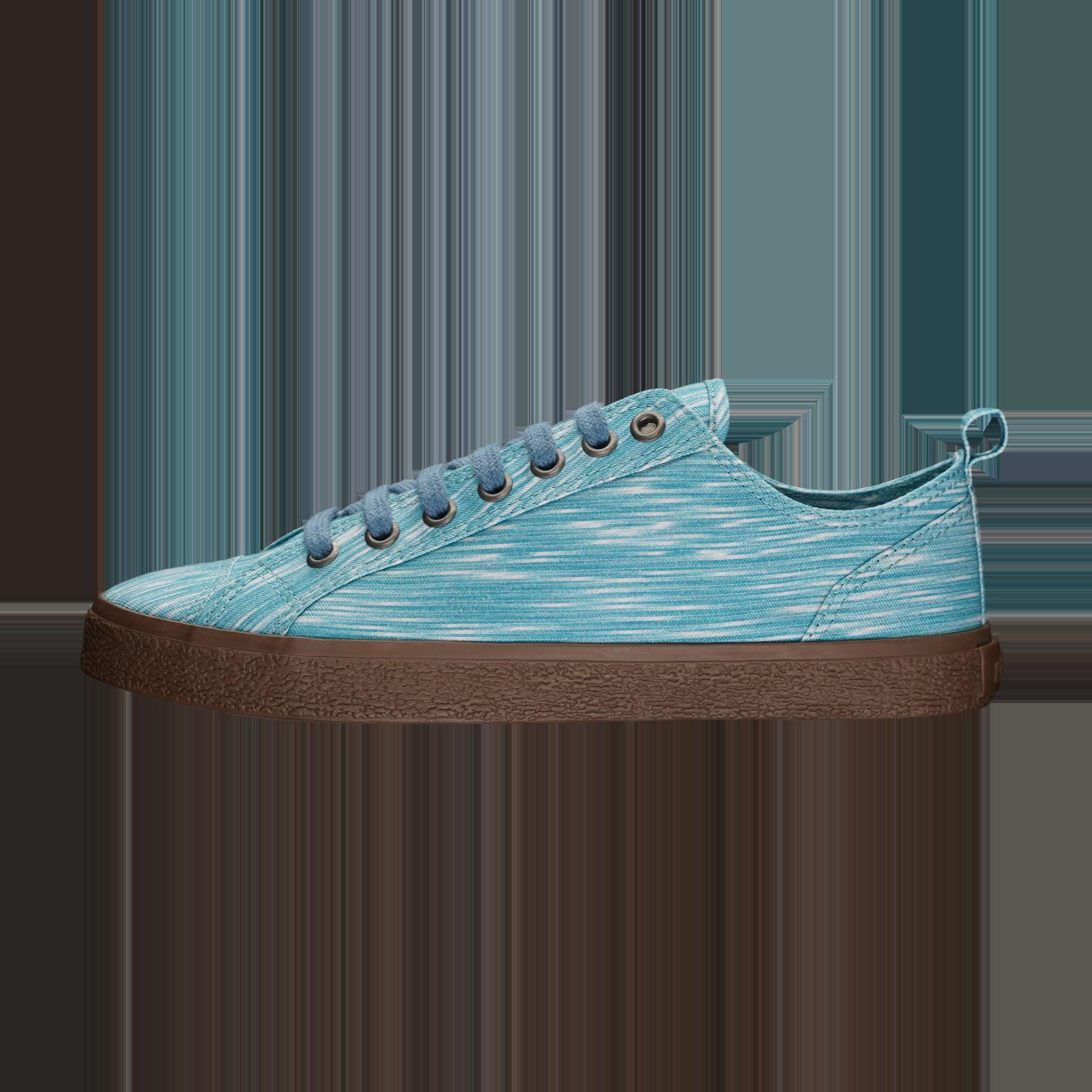 Fair Sneaker Goto Lo Aqua Melange von Ethletic
