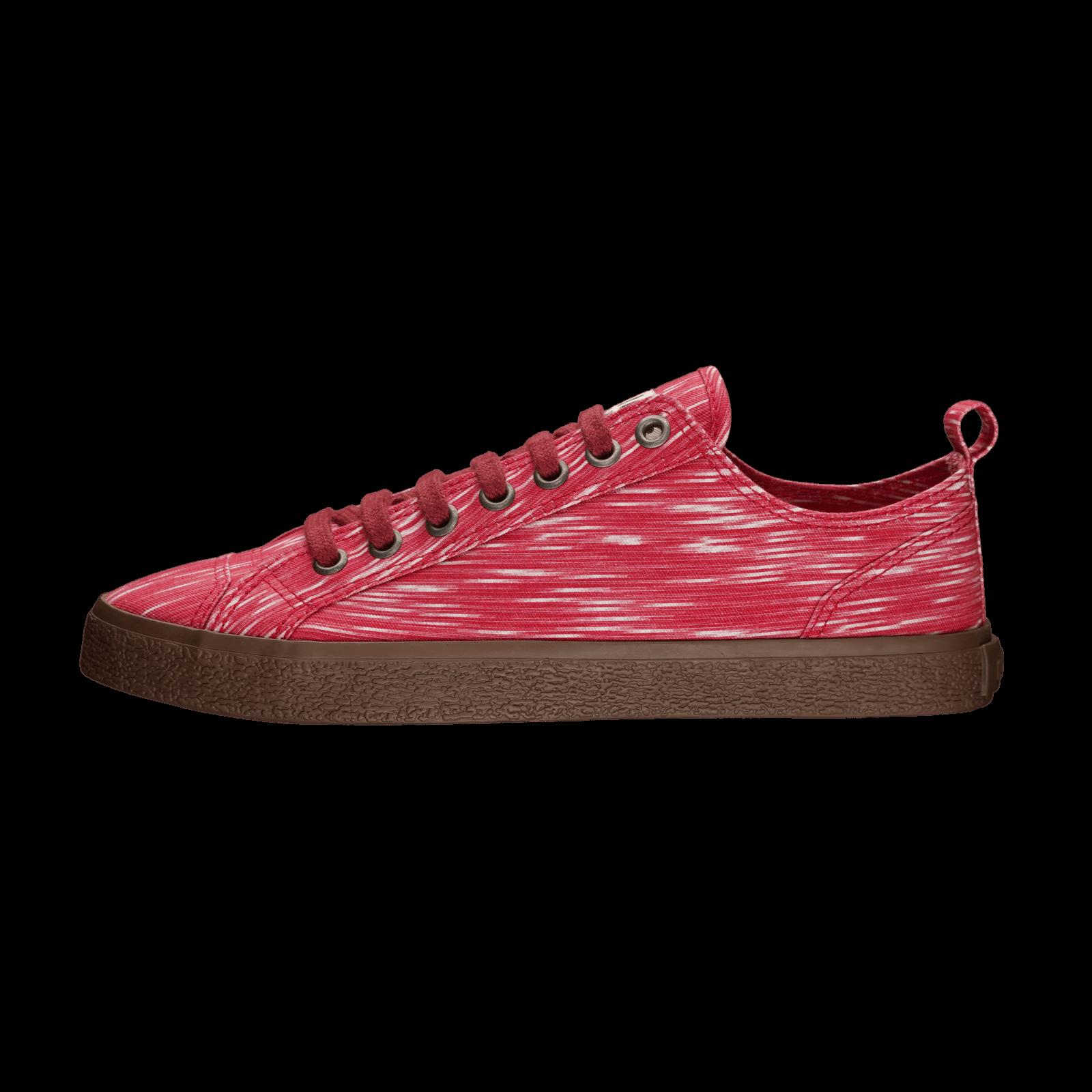 Fair Sneaker Goto Lo Red Melange von Ethletic