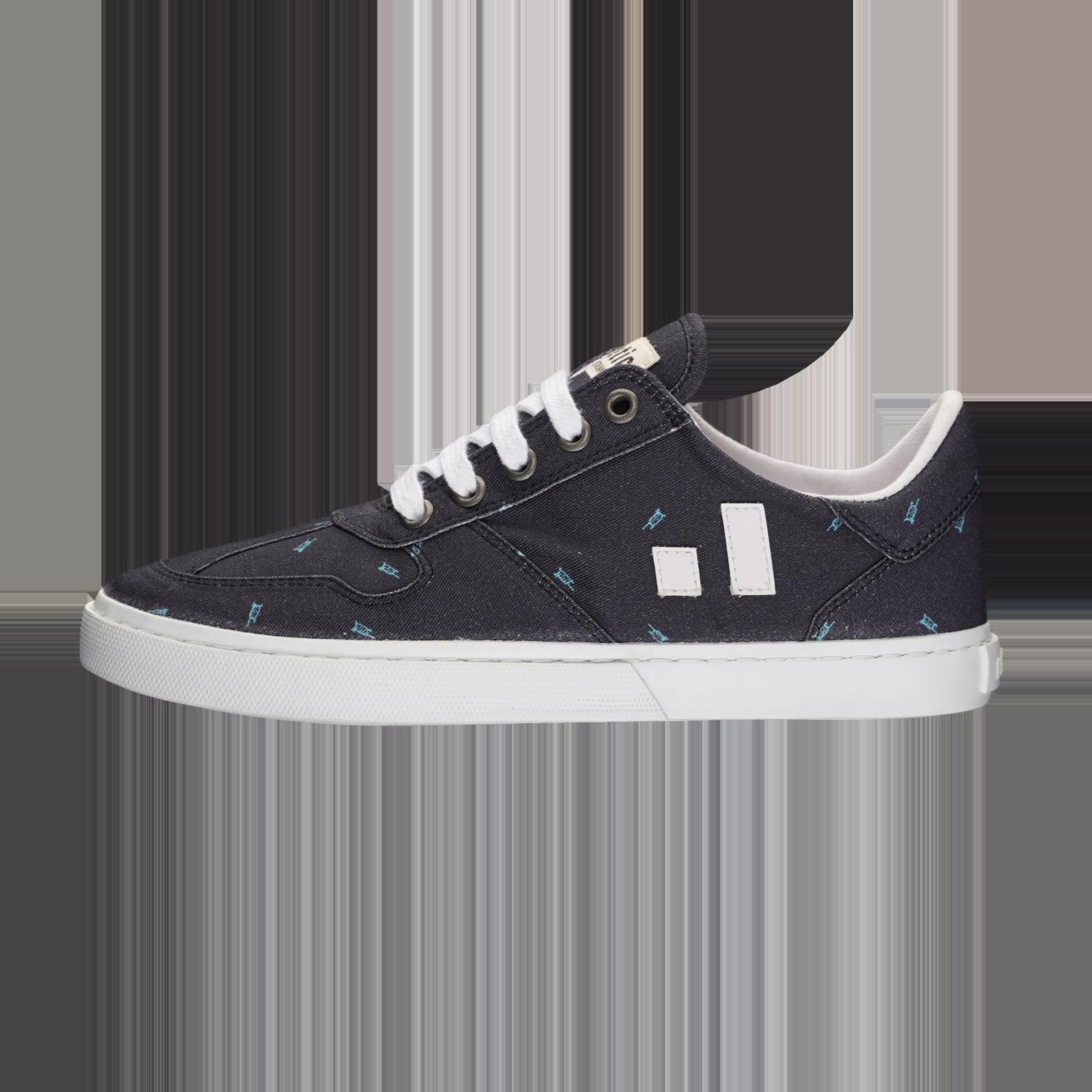 Fair Sneaker Root II Snow Leopard Blue von Ethletic