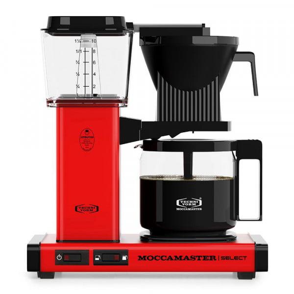KBG Select Filterkaffeemaschine rot von Moccamaster