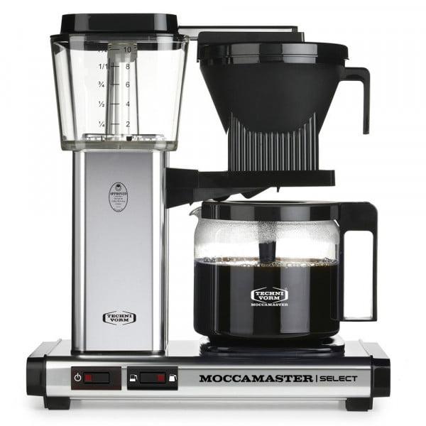 KBG Select Filterkaffeemaschine silber glänzend von Moccamaster