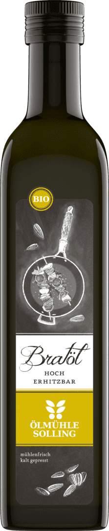 Bratöl aus Sonnenblumenkernen 500 ml von Ölmühle Solling