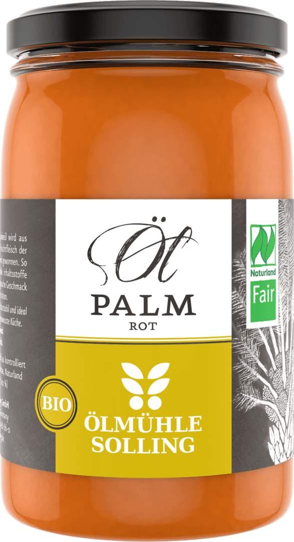 Palmöl rot 250 ml von Ölmühle Solling