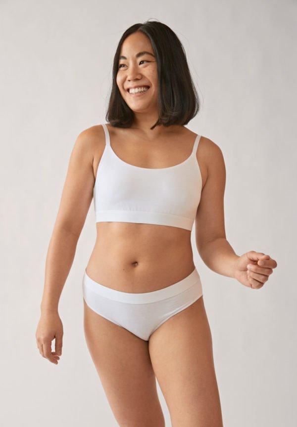 Panty Trinaa In White von ArmedAngels