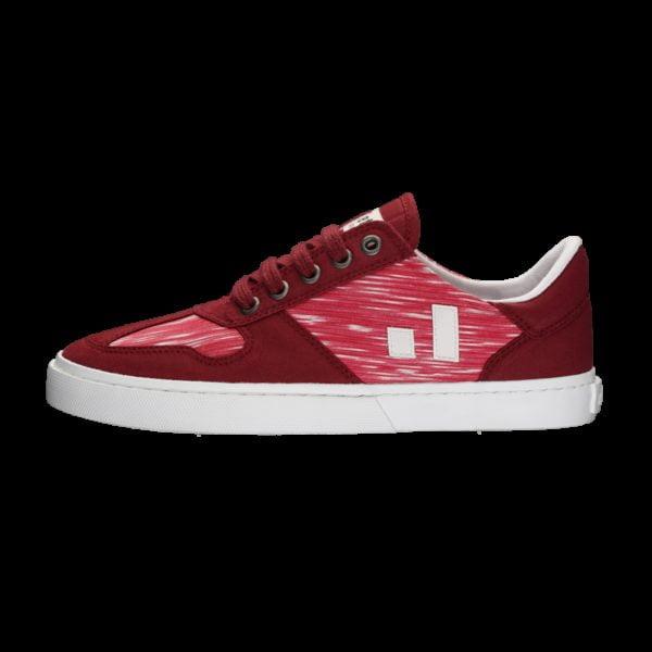 Fair Sneaker Root II Red Melange von Ethletic