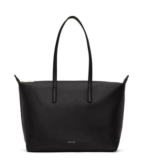 Abbi Loom Nachhaltige Tasche Black von Matt & Natt