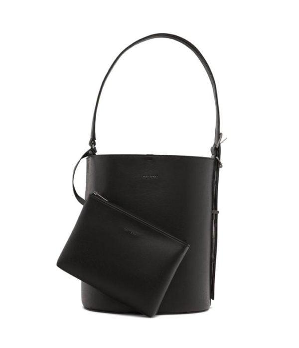 Azur Vegane Handtasche Black von Matt & Natt