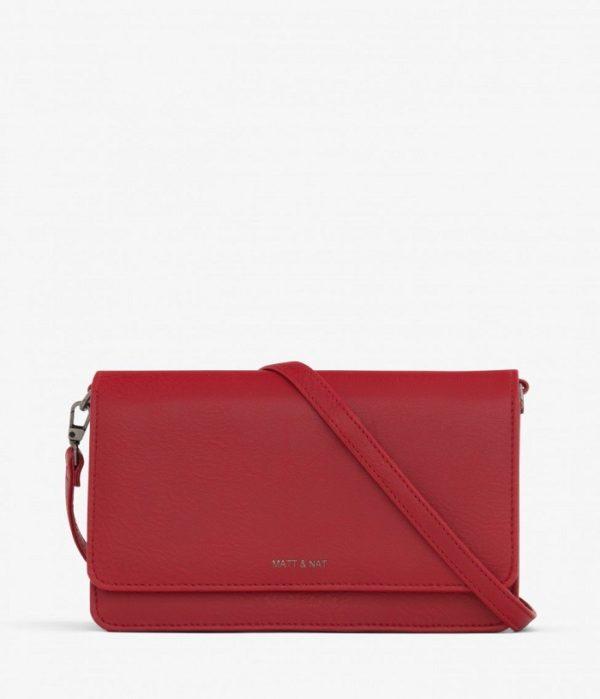 Bee Dwell Slow Fashion Bag Red von Matt & Natt