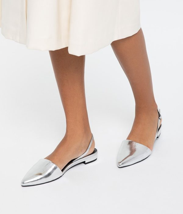 Cory Slow Fashion Sandalen Silver von Matt & Natt