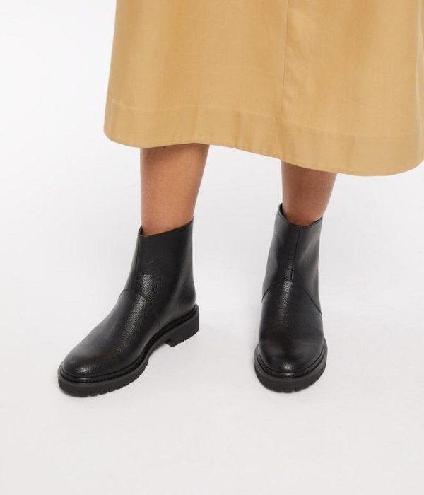Mirra Vegane Boots Black von Matt & Natt