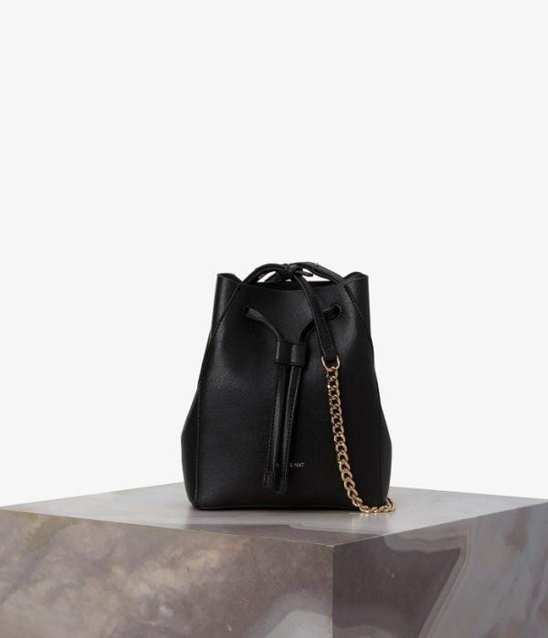 Vegane Designer Tasche Grace Black von Matt & Natt