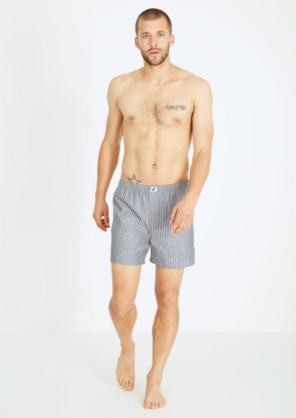Boxershorts #STRIPES Black / White von Recolution