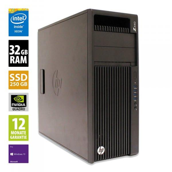HP Workstation Z440 MT - Xeon E5-1650 v4 @ 3
