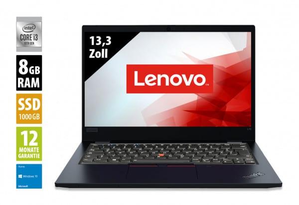 Lenovo ThinkPad L13 Black - 13